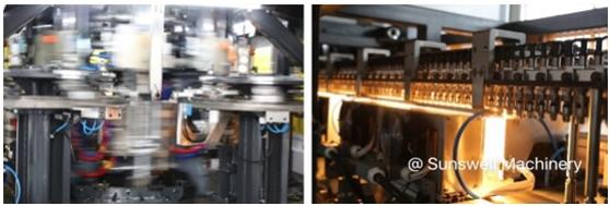 Sunswell向美国出口了20,000BPH CSD PET吹瓶机