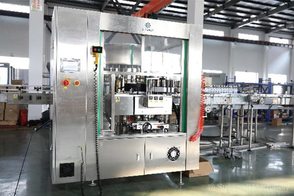 玻璃果汁瓶灌装机